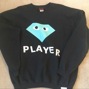 Like new Diamond supply crew neck sweater